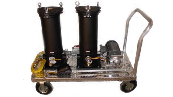 Custom Portable Filter Cart