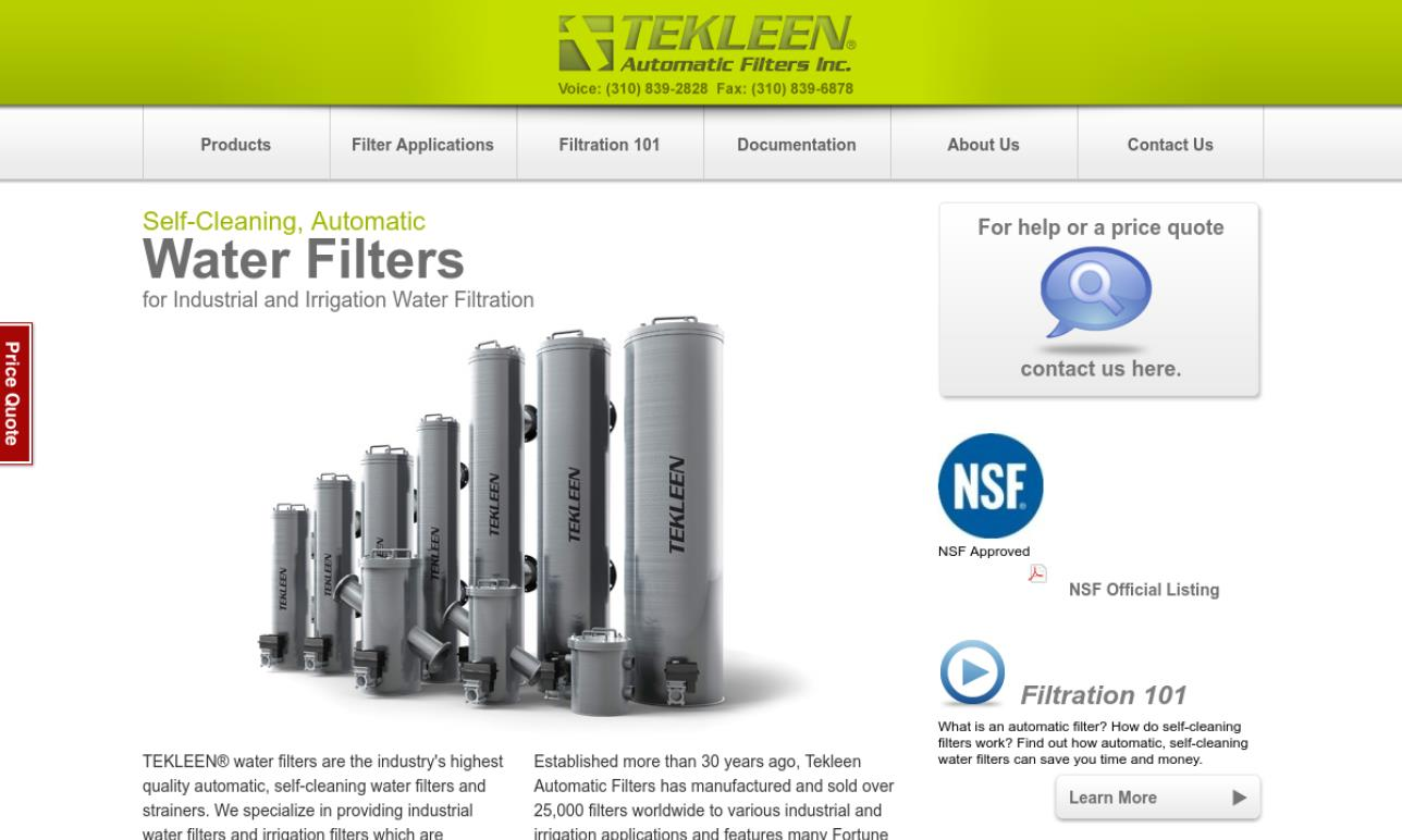 Automatic Filters, Inc.