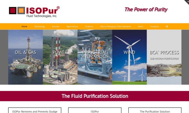 ISOPur™ Fluid Technologies, Inc.